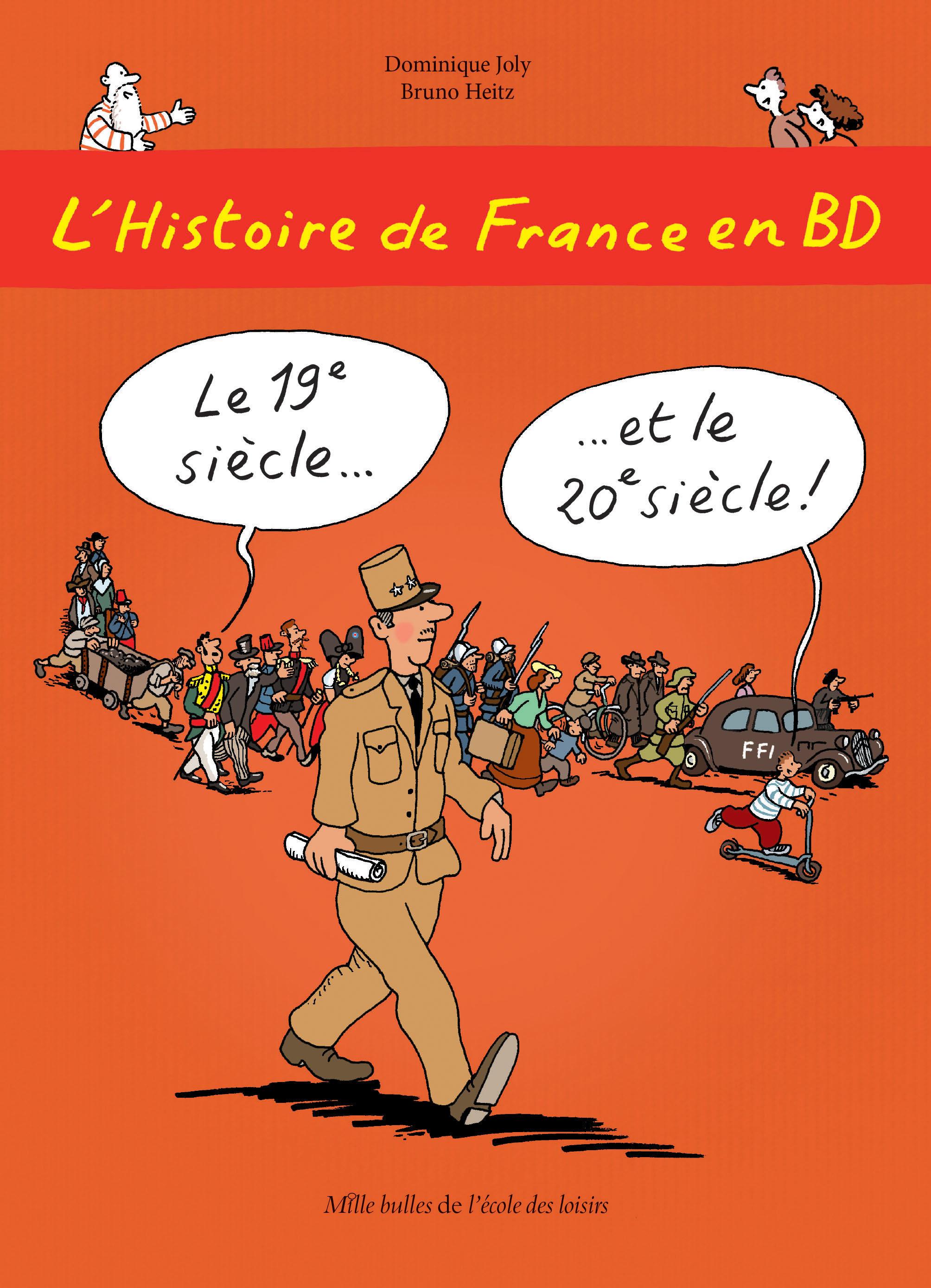 Histoire De France En Bd L Le 19eme Siecle Et Le 20eme