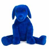 Peluche Chien Bleu - grand modèle
