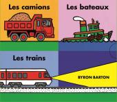 Coffret Les camions - Les bateaux - Les trains