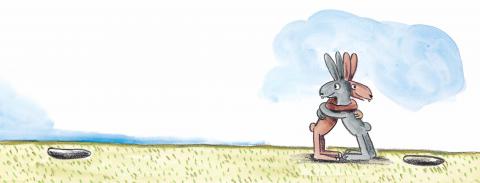 Une journée avec les lapins